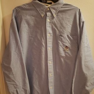 Tommy Hilfiger Mens Large Button Down Shirt